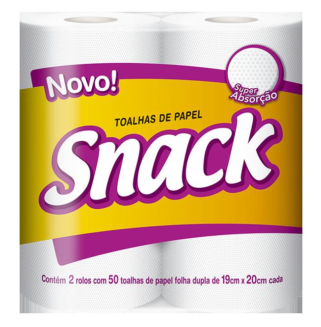 Toalha Snack Folha Dupla